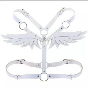 HANDMADE WHITE ANGEL HARNESS